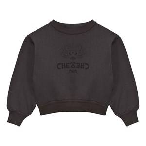 The Animals Observatory Unisex Jumpers and knitwear Black Bear Sweatshirt Black Chez Luis