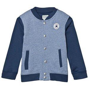 Converse Boys Coats and jackets Blue Navy and Blue Marl Varsity Jacket