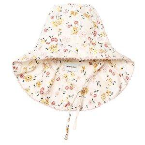 Mini A Ture Girls Headwear Cream Thia B Hat Antique White
