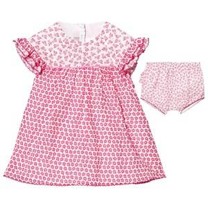 Image of Absorba Girls Dresses Pink Fuchsia Floral Frill Dress