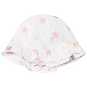 Image of Absorba Girls Headwear White White Multi Spot Hat