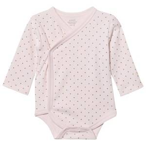 Image of Livly Girls All in ones Pink Saturday Crossed Body Baby Pink/gold Dots