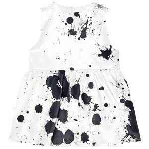 The Tiny Universe Girls Dresses White Big Splash Dress