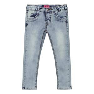 Me Too Girls Bottoms Blue Katja 243 Jeans Bleach Denim