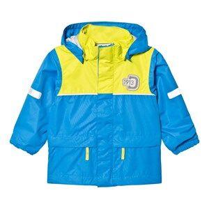 Didriksons Unisex Coats and jackets Blue Jezeri Kids Jacket Sharp Blue