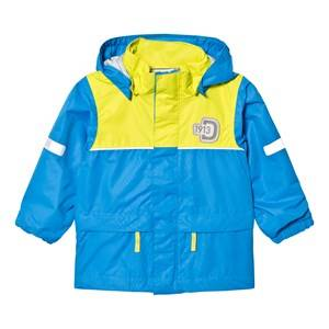 Didriksons Unisex Coats and jackets Blue Jezeri Kids Jacket Sharp Blue