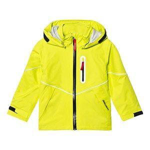 Didriksons Unisex Coats and jackets Green Pani Kids Jacket Maize Gree