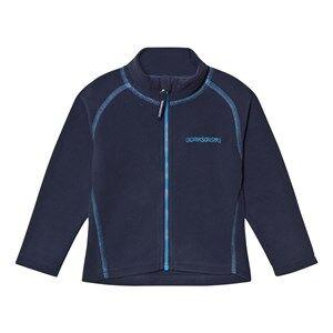 Didriksons Unisex Fleeces Navy Monte Kids Fleece Jacket Navy