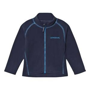 Didriksons Unisex Fleeces Navy Monte Kids Fleece Jacket Navy