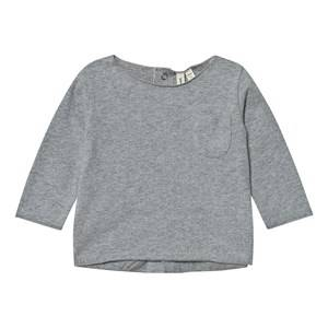 Gray Label Unisex Tops Grey Baby Tee Grey Melange