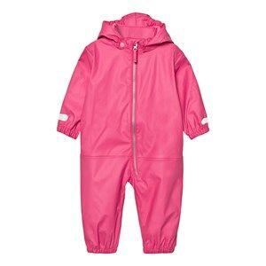Ticket to heaven Girls Coveralls Rain Suit Kody Authentic Rubber Magenta Pink