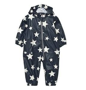 Ticket to heaven Boys Coveralls Rain Suit Kody Authentic Rubber Total Eclipse Blue