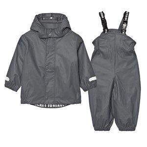 Ticket to heaven Unisex Clothing sets Grey Rubber Rain Set Castle Rock Grey