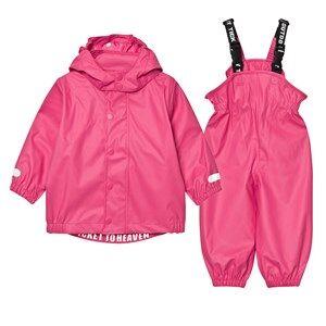 Ticket to heaven Girls Clothing sets Pink Rubber Rain Set Magenta Pink