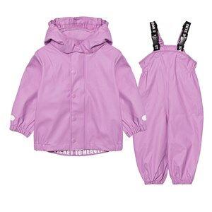 Ticket to heaven Girls Clothing sets Pink Rubber Rain Set Violet Rose