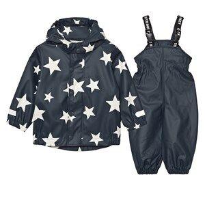 Ticket to heaven Boys Clothing sets Rubber Rain Set Total Eclipse Blue