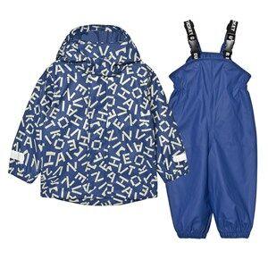 Ticket to heaven Boys Clothing sets Blue Rubber Rain Set True Blue