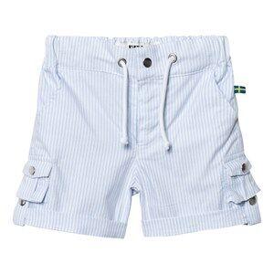 The BRAND Unisex Private Label Shorts Blue Khaki Shorts Thin Blue Stripe Classic