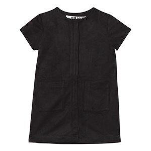 The BRAND Girls Private Label Dresses Black Denim Dress Black Suede