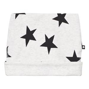Image of Molo Unisex Headwear Black Neci Baby Hat Black Star Print