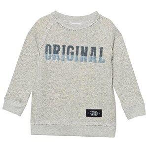 Molo Boys Jumpers and knitwear Grey Marnix Sweatshirt Snow Melange