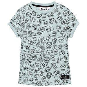 Molo Unisex Tops Green River T-Shirt Sculls Heads