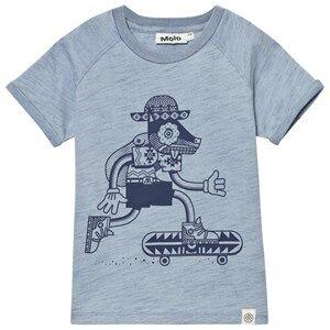 Molo Boys Tops Blue Rhett T-Shirt Blast Indigo