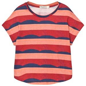 Wolf & Rita Girls Dresses Red Vania Top Waves