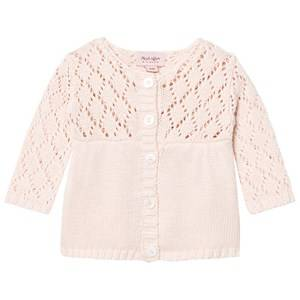 Image of Noa Noa Miniature Girls Jumpers and knitwear Pink Baby Rhi Knit Peach Blush
