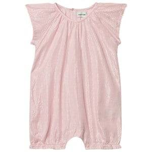Mini A Ture Girls All in ones Pink Constance Romper Pale Dogwood Rose