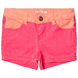 Billieblush Girls Shorts Pink Hot Pink Denim Shorts