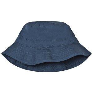 Melton Unisex Headwear Navy Bucket Hat Solid Marine