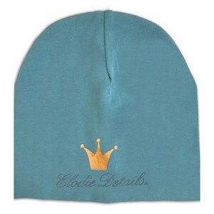 Elodie Details Unisex Headwear Blue Logo Beanie Pretty Petrol