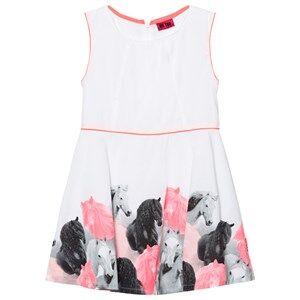Me Too Girls Tops White Kitt Dress Bright White