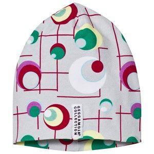 Geggamoja Girls Headwear Grey Limited Edition Dots Hat
