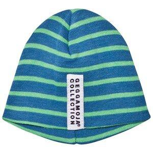 Geggamoja Unisex Headwear Blue Premature Cap  Marine And Green