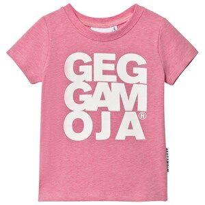 Geggamoja Girls Tops Pink T-shirt Pink Melange