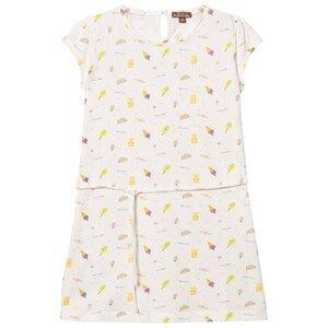 Emile et Ida Girls Dresses White Dress Sucre Ao Bonbons
