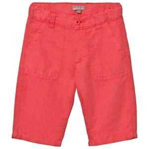 Emile et Ida Boys Shorts Red Bermuda Shorts Tomate