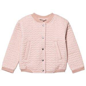 Emile et Ida Girls Jumpers and knitwear Pink Teddy Pomette