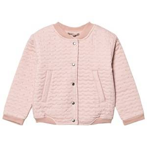 Emile et Ida Girls Jumpers and knitwear Pink Teddy Pomette
