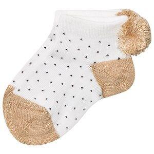 Emile et Ida Girls Underwear White Socks Or