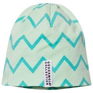 Geggamoja Unisex Headwear Green Zick Zack Mint Hat