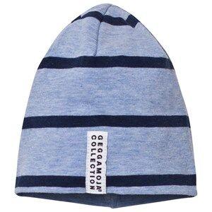 Geggamoja Unisex Headwear Blue Hat Blue Melange And Marine