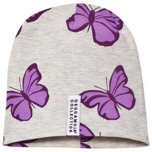 Geggamoja Unisex Headwear Grey Limited Edition Butterfly Hat