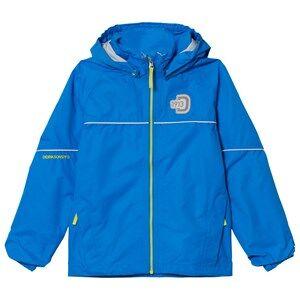Didriksons Unisex Coats and jackets Blue Jarkos Kids Jacket Sharp Blue