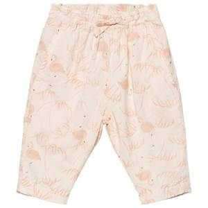 Noa Noa Miniature Girls Bottoms Pink Baby Pants Voile Printed Pink Tint