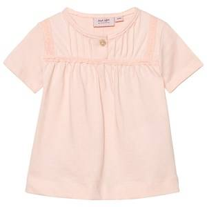 Noa Noa Miniature Girls Tops Pink Baby Basic Top Organic Jersey Peach Blush