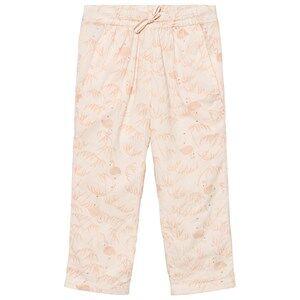 Noa Noa Miniature Girls Bottoms Pink Mini Voile Pants Printed Pink Tint