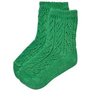 Bobo Choses Unisex Underwear Green Baby Short Jacquard Socks Green Mint